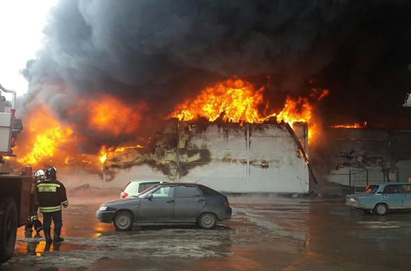 Во время пожара в ТЦ «Адмирал» пострадало семь человек