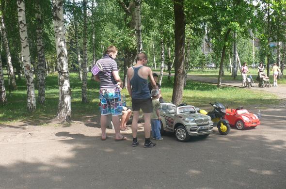 День защиты детей можно провести в парке Урицкого