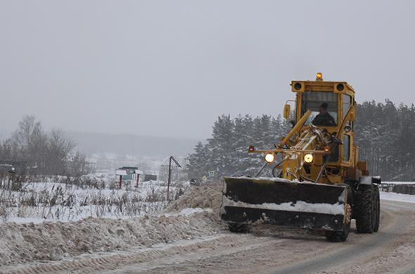 За сутки в Казани вывезли почти 4 тыс. тонн снега