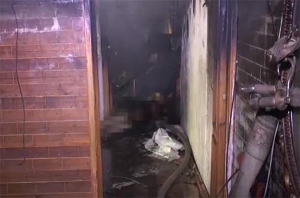 Во время пожара на ул. Гагарина погибла женщина