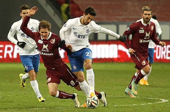 «Рубин» дома сыграл вничью с «Динамо»