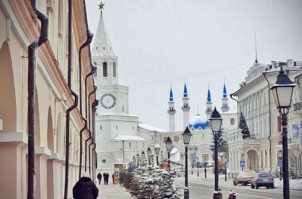 Казань вошла в топ-3 популярных городов в новогодние каникулы