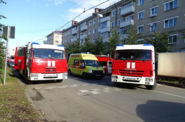 В казанской школе № 15 произошел пожар