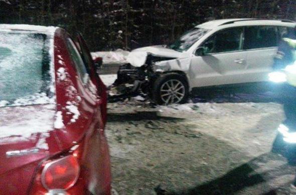 Серьезное ДТП произошло по дороге в Боровое Матюшино