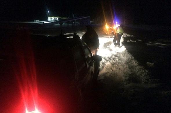 В Татарстане погиб водитель, вызволяя машину из снега
