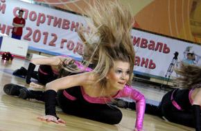 Всероссийские соревнования по черлидингу