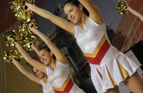 Соревнования по черлидингу в Казани
