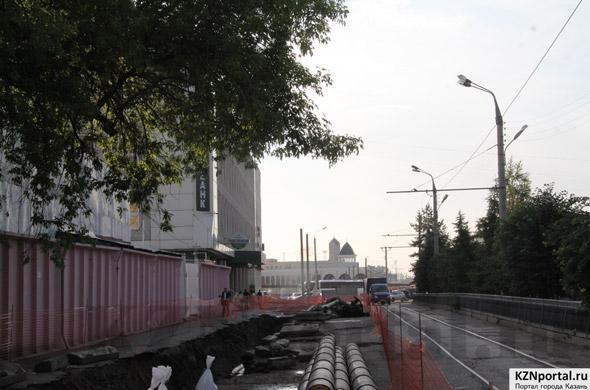 Улица Шахиди Казань