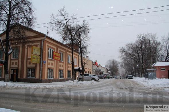 Улица Алафузова Казань