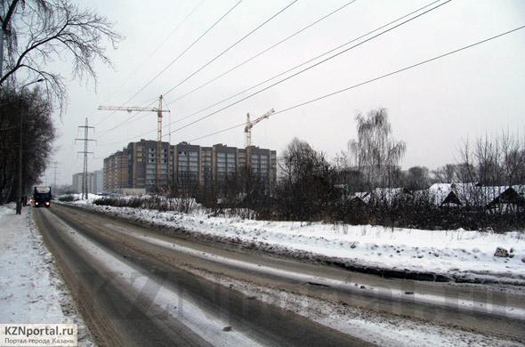 Улица Баруди Казань