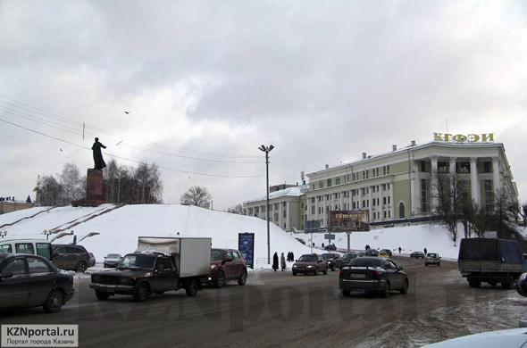 Улица Бутлерова Казань