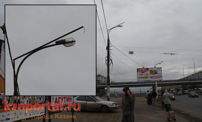 Фонари в Казани