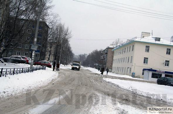 Улица Чкалова Казань