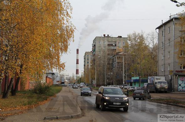 Улица Гагарина Казань
