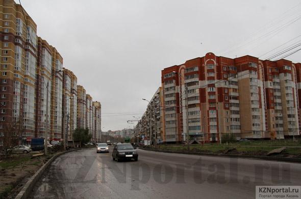 Улица Глушко Казань