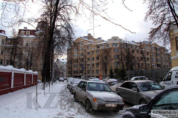 Улица Гоголя Казань