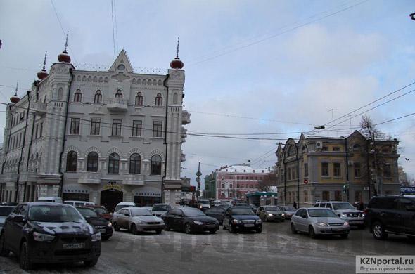 Улица Горького Казань