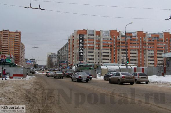 Улица Губкина Казань