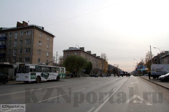 Проспект Ибрагимова Казань