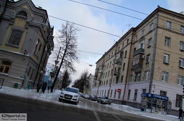 Улица Жуковского Казань