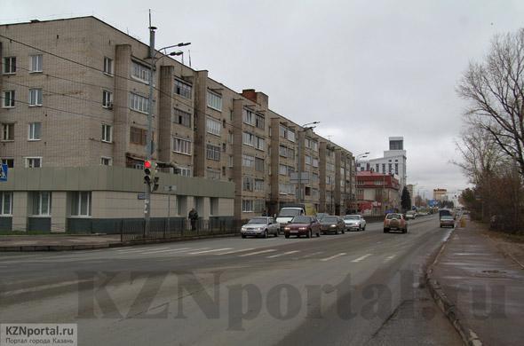 Улица Аделя Кутуя Казань