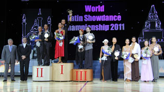 Чемпионат мира по латиноамериканским танцам 2011 в Казани