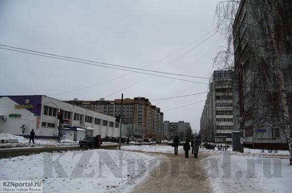 Улица Лаврентьева Казань