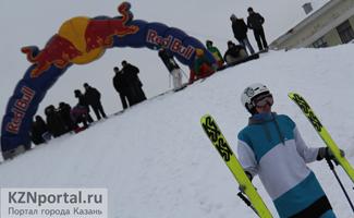 Лыжники экстремалы