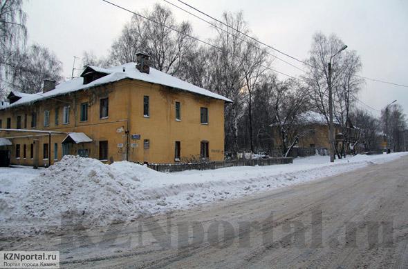 Улица Можайского Казань