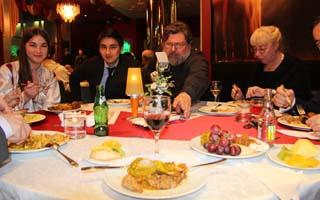 Ужин в ресторане Мираж отеля
