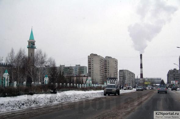 Улица Мусина Казань
