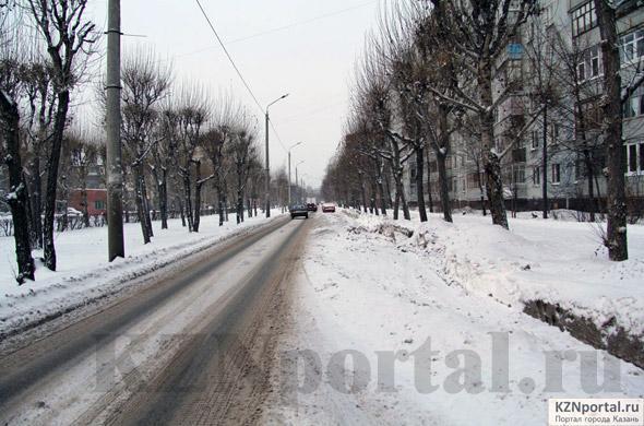 Улица Батыршина Казань