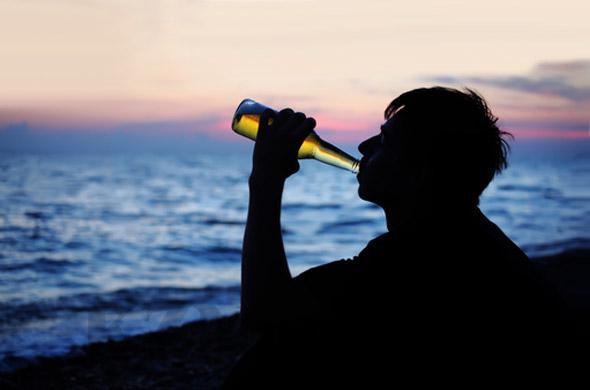алкоголь на пляже