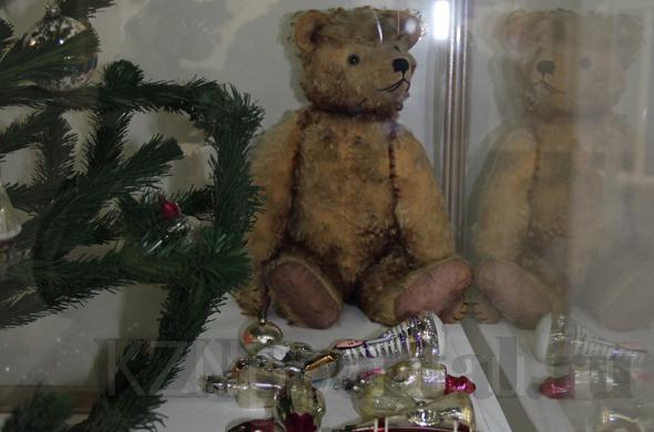 В Казани проходит уникальная выставка ёлочных игрушек