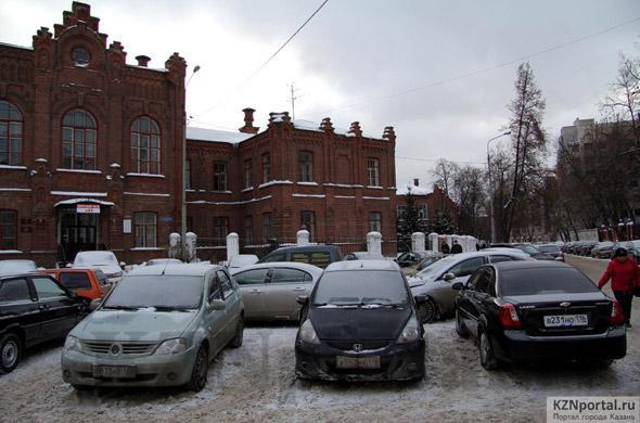 Улица Толстого Казань