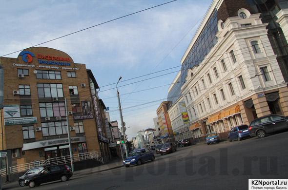 Улица Тази Гиззата Казань