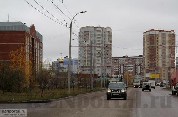 Улица Вагапова Казань