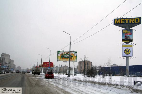 Улица Вахитова Казань