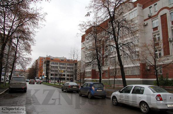 Улица Зинина Казань