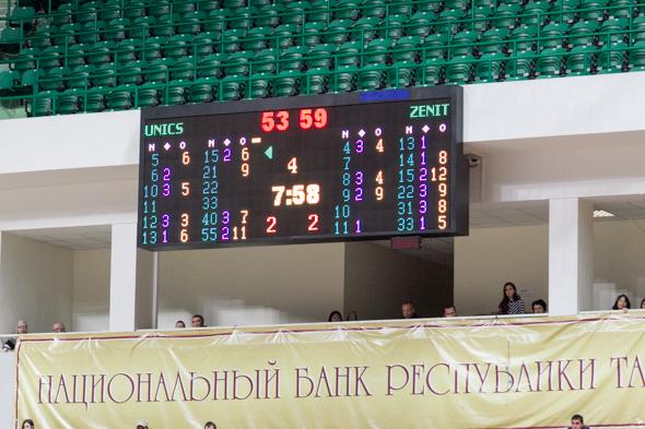 В Единой лиге ВТБ УНИКС обыграл «Зенит» (фоторепортаж)