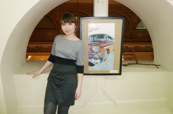 Алёна Панкова:«Рисую я не только знаменитостей, но и друзей…»