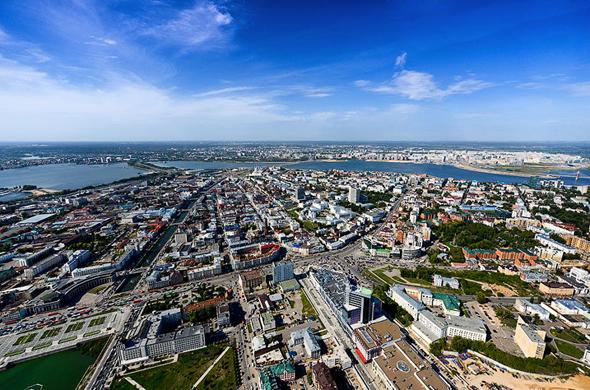Где в Казани можно переночевать за 400 рублей?