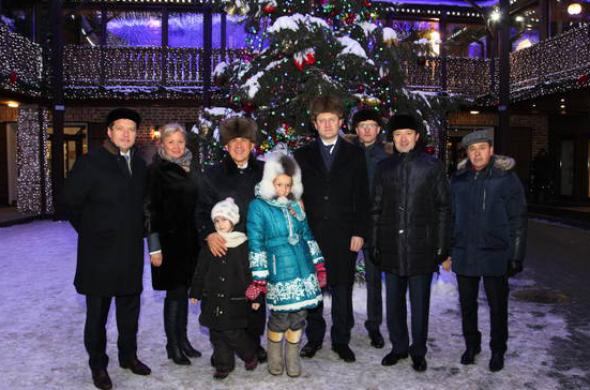 В Старо-Татарской слободе открылась новогодняя ярмарка