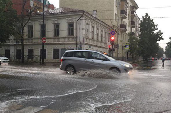 В Казани очередная гроза закончилась потопом